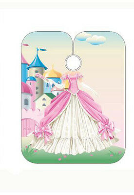 Kinder Schneiden umhang (PRINCESS DESIGN) 120cm x 95cm by Sinelco