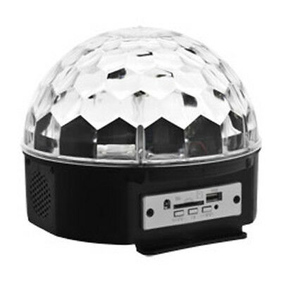 Smartfox LED Disco Ball Musiksteuerung Magic Partylicht Feier Fest Light Show