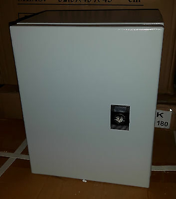sheet steel electric enclosure 250x200x150mm junction box IP65 weather proof NEW