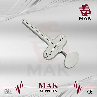 MAK Mouth Gag Heister 13cm Fine Quality Surgical Instruments Stainless Steel