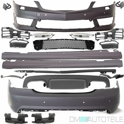 Mercedes W221 FULL Bodykit Bumper+SET DRL ABS Plastic +Diffusor for S65 S63 AMG