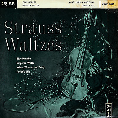 "Strauss Waltzes # 4 Track Ep # 7"" Vinyl Single"