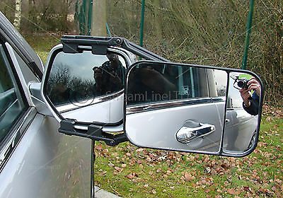 Large Towing Mirror Dual Glass Extension Mirrors Car Travel Extende Van MP8324
