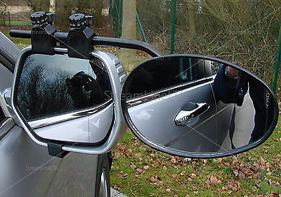 Deluxe Towing Mirror Extension Mirrors Car Travel Extenders Van Part Cars MP8328