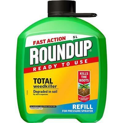 Roundup 5 Litres Ready To Use Refill for Pump 'n' Go REFILL