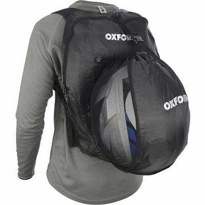 Oxford Motorcycle Handy Sack Helmet Storage Bag 15 Litre Back Pack - Ol860