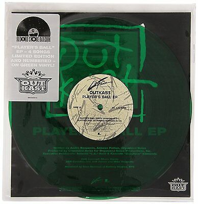 """OutKast - Player's Bll EP (2014)  Limited/Numbered RSD 10"""" Green Vinyl  NEW"""
