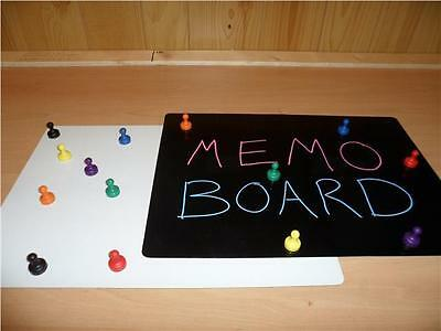 A3 Dry Wipe Magnetic Memo Board Self Adhesive OR Fridge Magnet Whiteboard Sticky