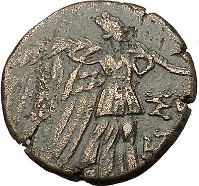 AMISOS in PONTUS MITHRADATES VI the GREAT Gorgon Aegis Nike Greek Coin i54131