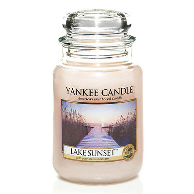Yankee Candle Lake Sunset Grosses Glas 623 g