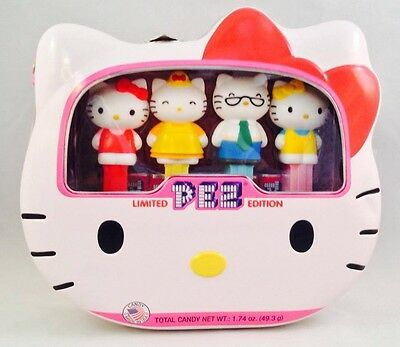 PEZ - 2014 Hello Kitty 40th Anniversary Limited Edition - Set of 4 - Mint in Tin