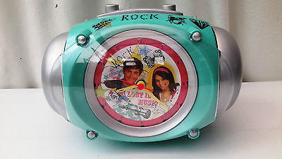 WESCO High School Musical alarm clock / boom box