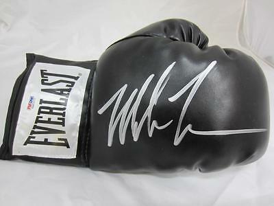 Mike Tyson Authentic Signed Boxing Everlast Glove Auto Psa/dna Itp 6A83272