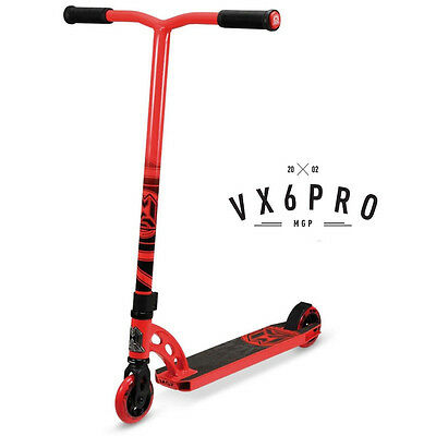2016 Madd Gear Mgp Vx6 Complete Pro Scooter Red - Free Delivery