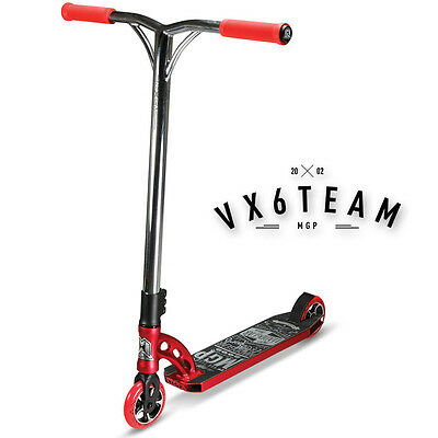 2016 MADD GEAR MGP VX6 Team Scooter Complete RED/CHROME - FREE DELIVERY