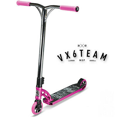 2016 MADD GEAR MGP VX6 Team Scooter Complete PINK/CHROME - FREE DELIVERY