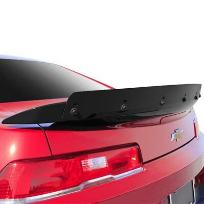 14-15 Chevrolet Camaro Carbon Fiber Wicker Bill Look Spoiler Add On 1 pc 112325