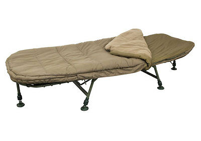 Fox NEW Carp Fishing MK2 Flatliter Bed & Bag System Bedchair Standard - CBC050