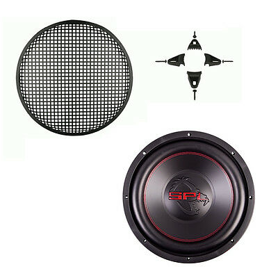 SPL GLW-12 12 In Dual 2-Ohm 4-Layer Voice Coil 1200W Car Subwoofer 85-9012 Grill