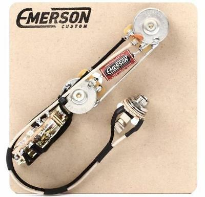 Emerson Custom T3 Prewired Kit 3 way 500k Reverse Control fits to Tele ®