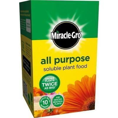 Miracle-Gro All Purpose Soluble Plant Food 500g Grow Plants Twice As Big