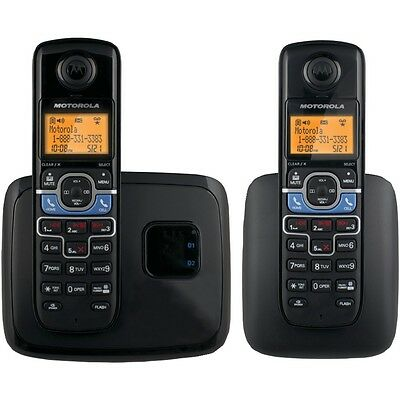 NEW Motorola L702bt Dect 6.0 Cordless Phone System With Bluetooth(r) Link (2-han