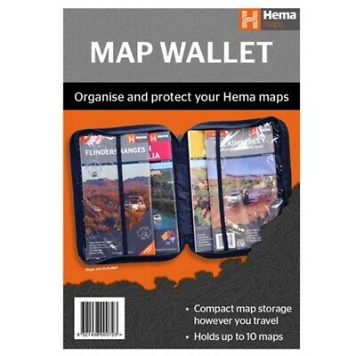 Hema Maps Wallet Oranise and protect up to 10 maps