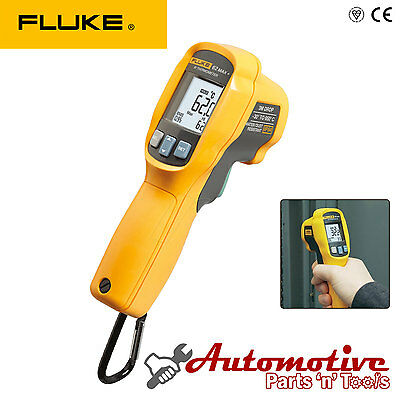 Fluke 62 MAX+ Plus IR Laser Infrared Thermometer IP54 Thermal Reader Dual Laser