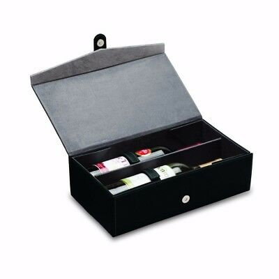 Picnic Time 656-00-179 Two-Bottle Wine Box Trebbiano Protective Carrying Case