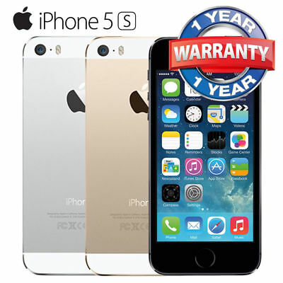 Unlocked Box iPhone 5S 32G/16G/64G Space Grey/White Silver/Gold Silver