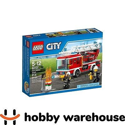 LEGO 60107 City Fire Ladder Truck (BRAND NEW SEALED)