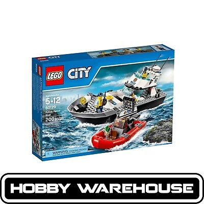 LEGO 60129 City Police Patrol Boat (BRAND NEW SEALED)