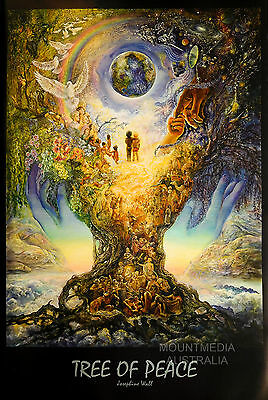 TREE OF PEACE POSTER (61x91cm) JO WALL NEW LICENSED ART