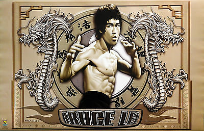 BRUCE LEE - CIRCLE OF POWER POSTER (57x87cm)  NEW LICENSED ART