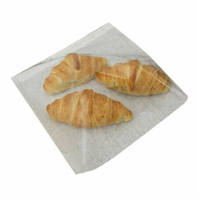 Film Fronted Food Paper Bags - Bakery Bags  *Choose own Size*