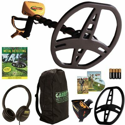 Garrett EuroAce  Metal Detector, Headphones, Coil Cover, Box Cover & Back Pack!