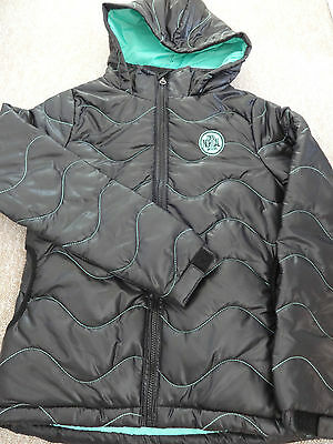 O'Neill Santacruz norcal girls padded jacket black brand new with tags.