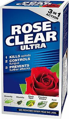 200Ml Scotts Rose Clear Ultra Concentrate Plant Container Bug Insect Killer