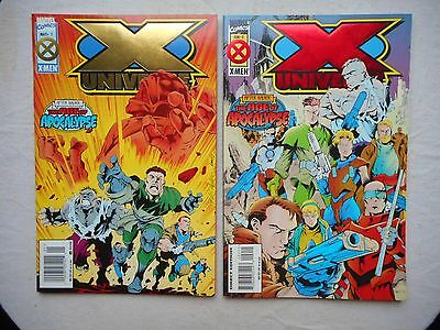 X Universe N° 1 Et 2 Run Complet Vo Neuf / Near Mint / Mint
