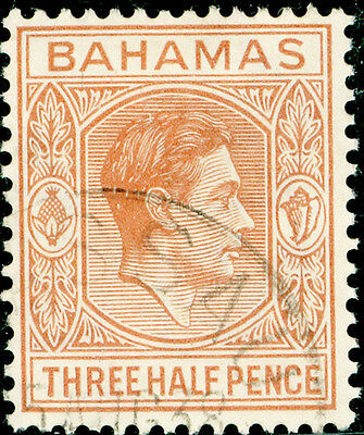 BAHAMAS SG151a, 1½d pale red-brown, FINE USED. CDS.