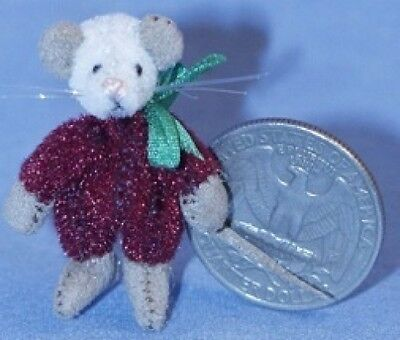 Deb Canham Dollhouse Collection Christmas Mouse - LE 250