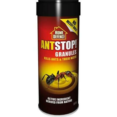 Home Defence Ant Stop Ant & Nest Killer Granules Easy To Use 300G Tub