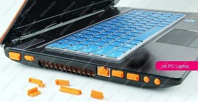 13 pcs Silicone Anti-Dust Plug Protective Ports Cover Stopper Laptop Notebook