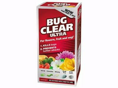 Bug Clear Ultra 200ml Flowers Fruit Vegetables Now used on Edible Crops