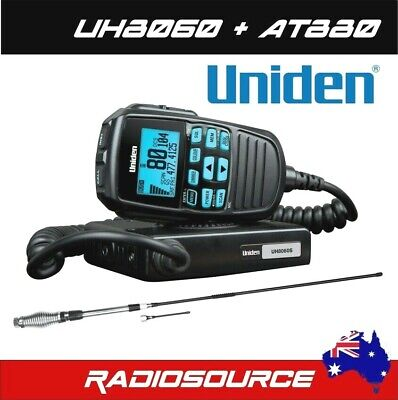 Uniden Uh510-2 Handheld 80 Channel 1W Uhf Cb Two Way Radios Twin Pack