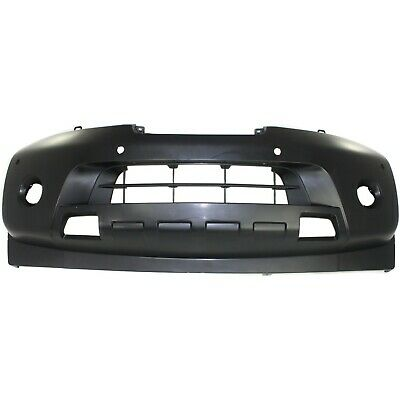Front Bumper Cover For 2008-2015 Nissan Armada w/ fog lamp holes Primed CAPA