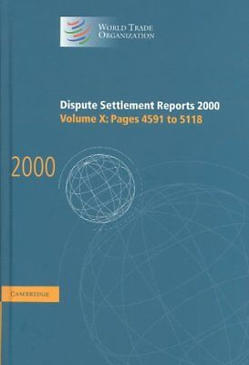 Dispute Settlement Reports 2000: Volume 10, Pages 4591-5118: 2000: v. 10:...