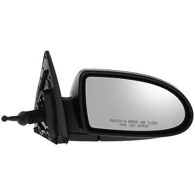 Mirror Manual Remote LH Left Driver Side for 10-11 Hyundai Accent