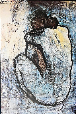 PICASSO - BLUE NUDE POSTER (91x61cm)  NEW LICENSED ART