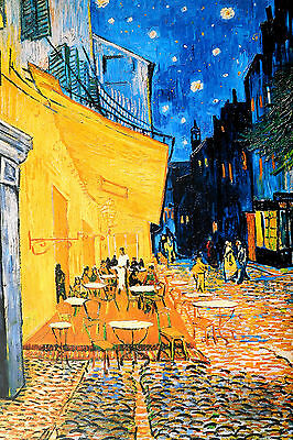VAN GOGH POSTER (91x61cm) CAFÉ AT NIGHT NEW LICENSED ART